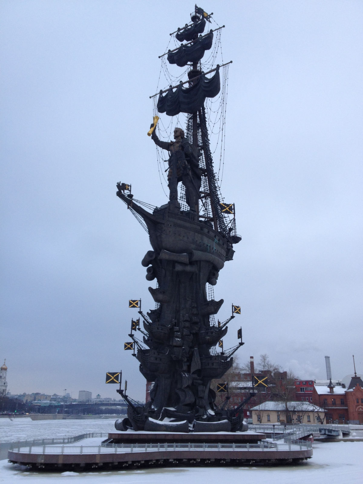 Peter the Great, not Christopher Columbus