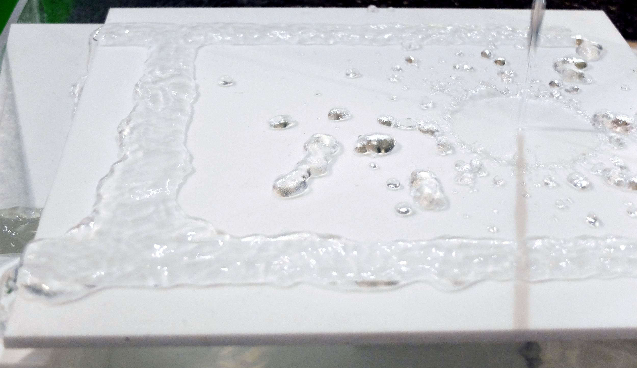 Superhydrophobic Fountain